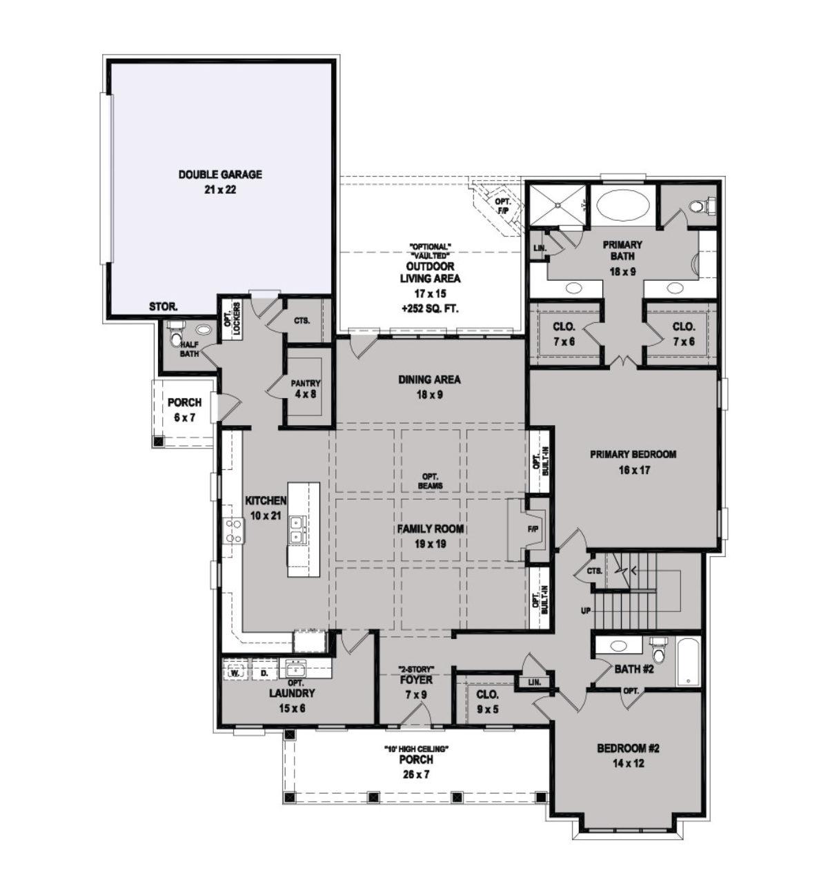 Arbor Floor Plan Regency Homebuilders
